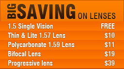 Big Saving on Lenses