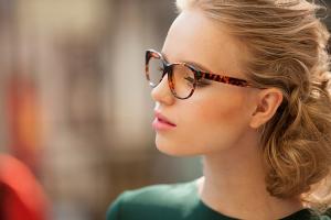 glasses, women's glasses, tortoise glasses