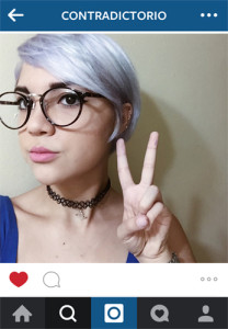 Instagram lilac hair