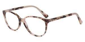 Clear brown tortoise Hepburn frame