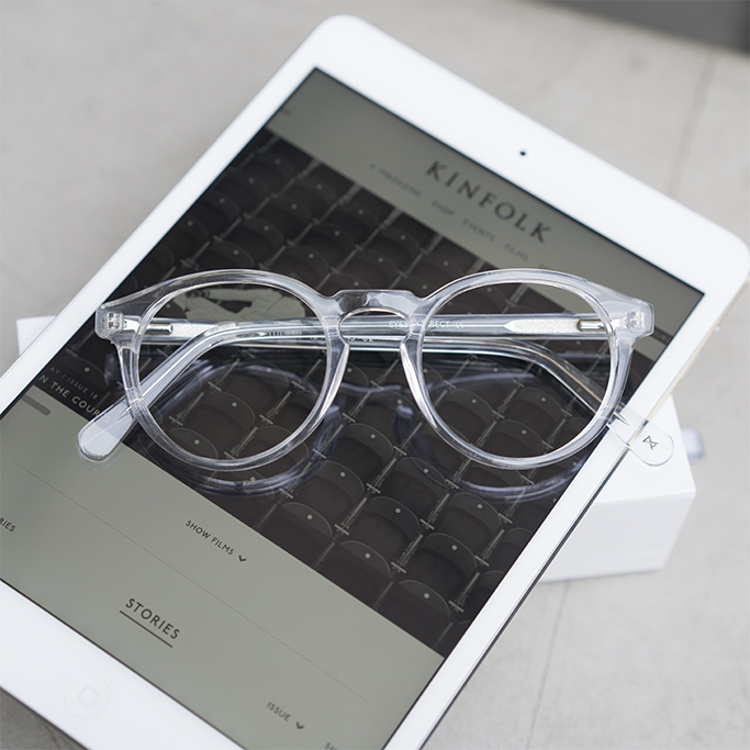 Eyezen glasses and digital screen protection.