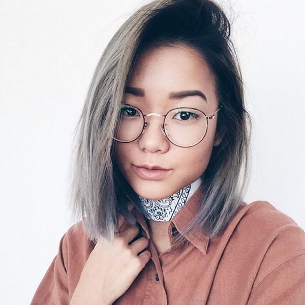 @stylesteffi wearing Daydream eyeglasses from Eyebuydirect