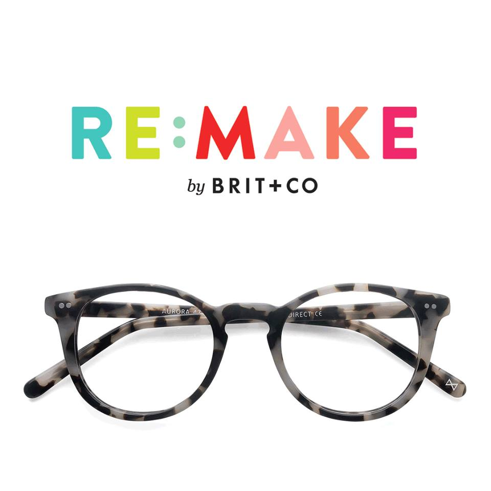 Brit and Co with EyeBuyDirect at Re:make
