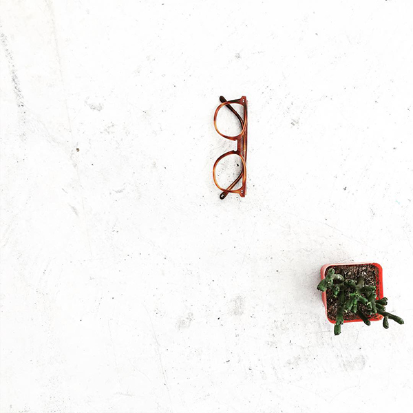 Shade eyeglasses from RFLKT in cinnamon