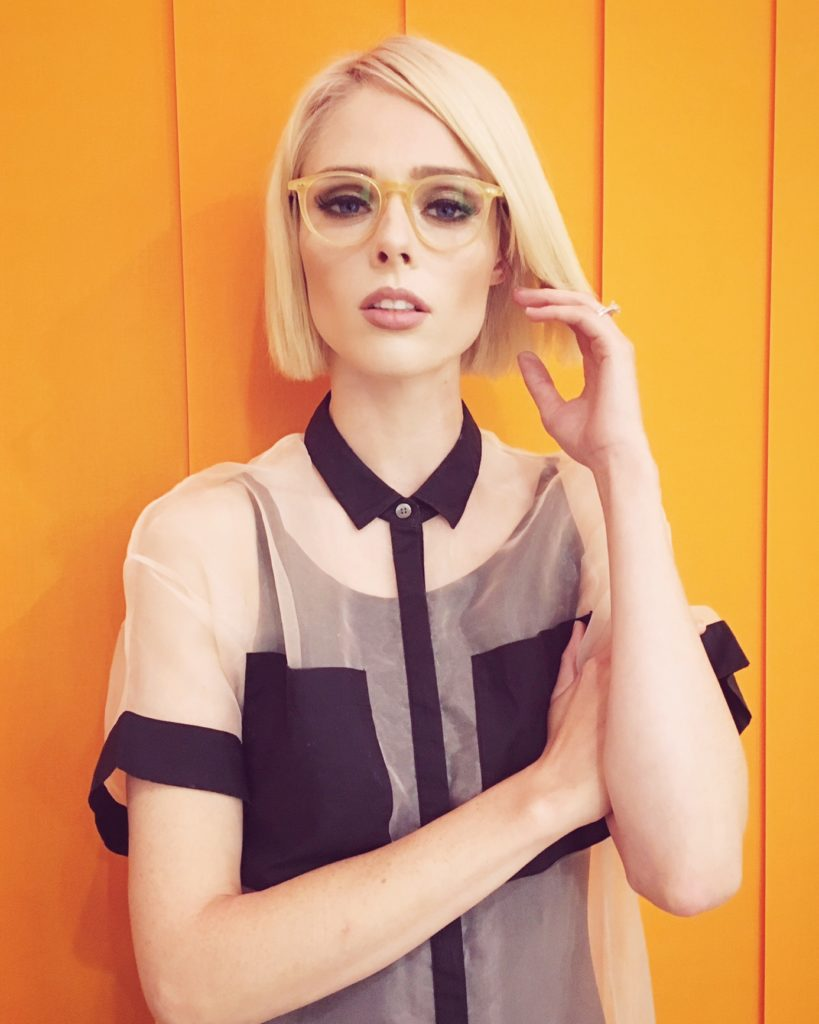Coco Rocha EyeBuyDirect Prism Ginger