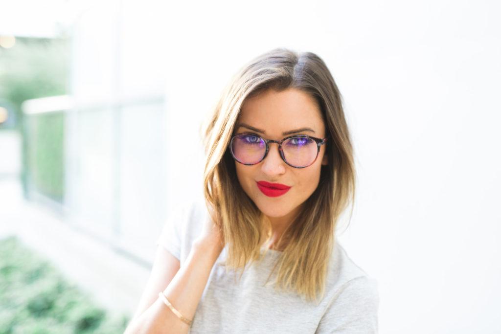 Kaitlyn Bristowe EyeBuyDirect Eyeglasses Muse