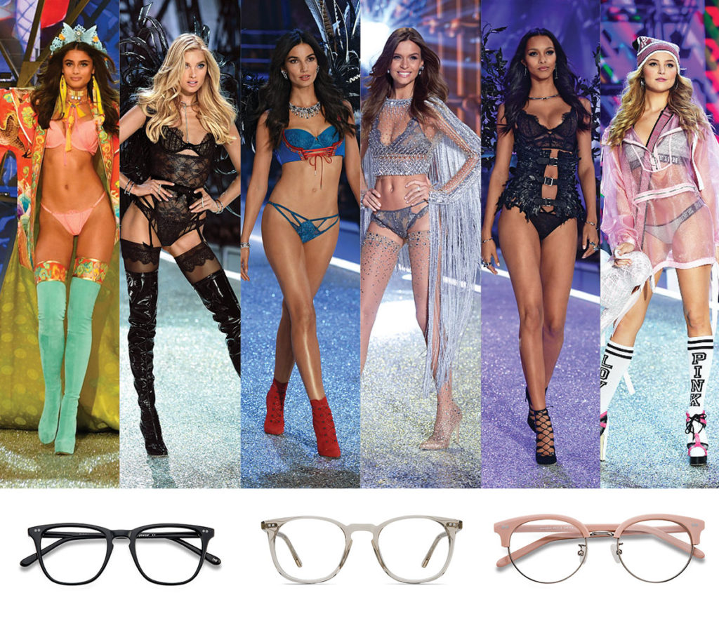 Victoria's Secret Models EyeBuyDirect