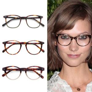 EyeBuyDirect Tortoise Eyeglasses Karlie Kloss