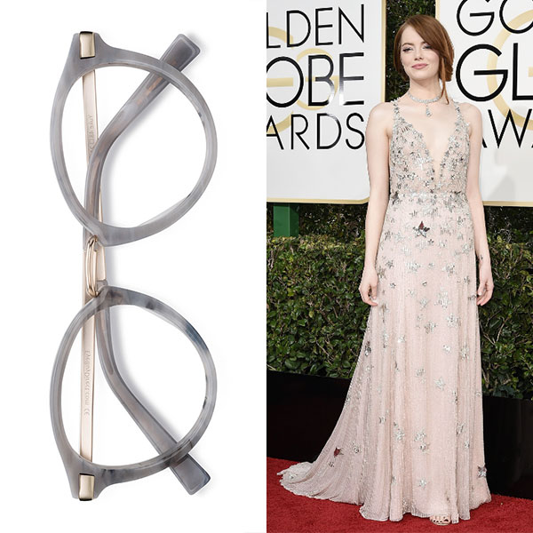 EyeBuyDirect Yuke Light Grey Emma Stone
