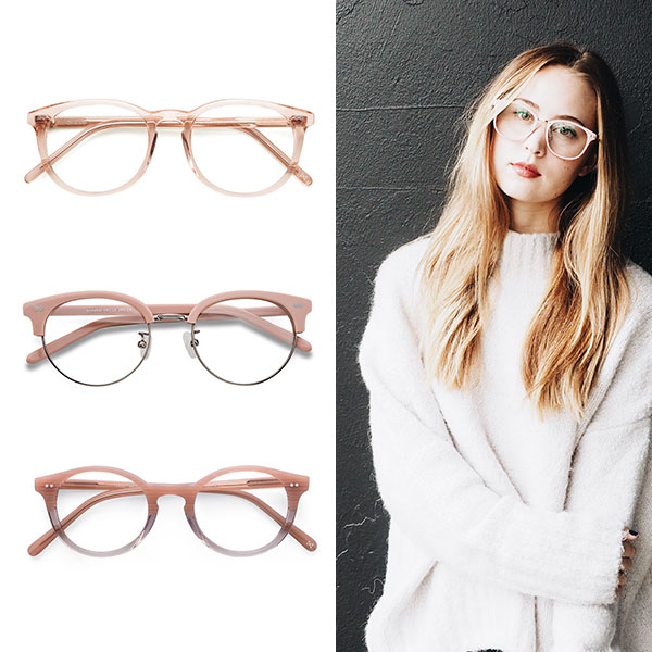 EyeBuyDirect Pink Eyeglasses