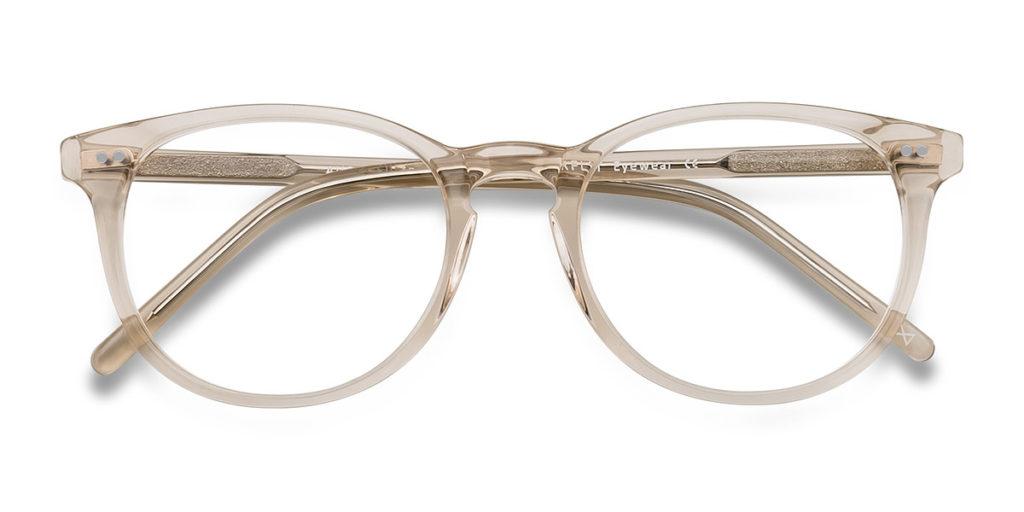 EyeBuyDiret Clear Eyeglasses Aura Champagne