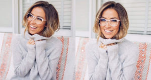 EyeBuyDirect Kaitlyn Bristowe fiction in pink