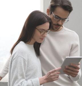 EyeBuyDirect Eyezen digital screen protection glasses