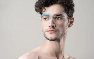 EyeBuyDirect Transradiance Collection Clear Eyeglasses