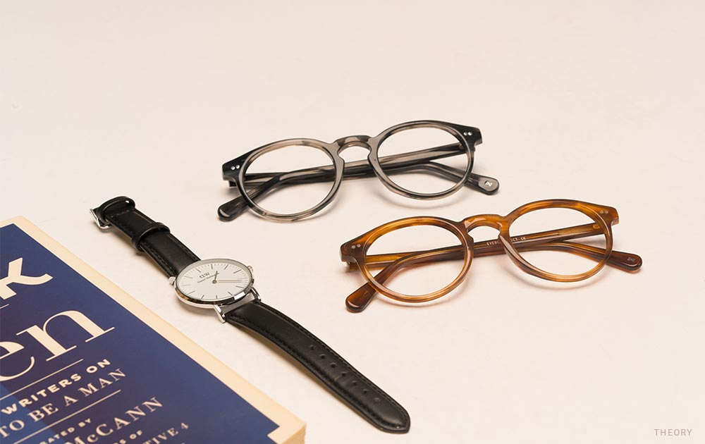 two-nerd glasses-book