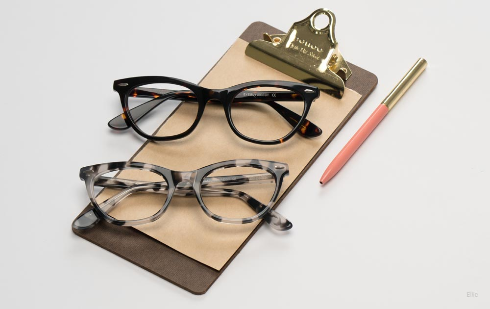 which face shapes suit cat eye glasses - clipboard