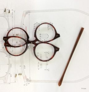 how to fix a popped glasses lens - glasses - schematics