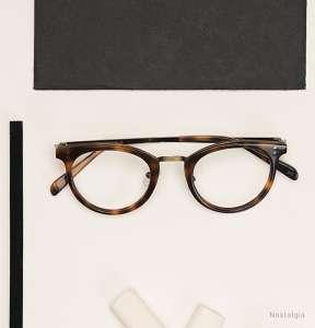astigmatism correction prescription glasses - brown