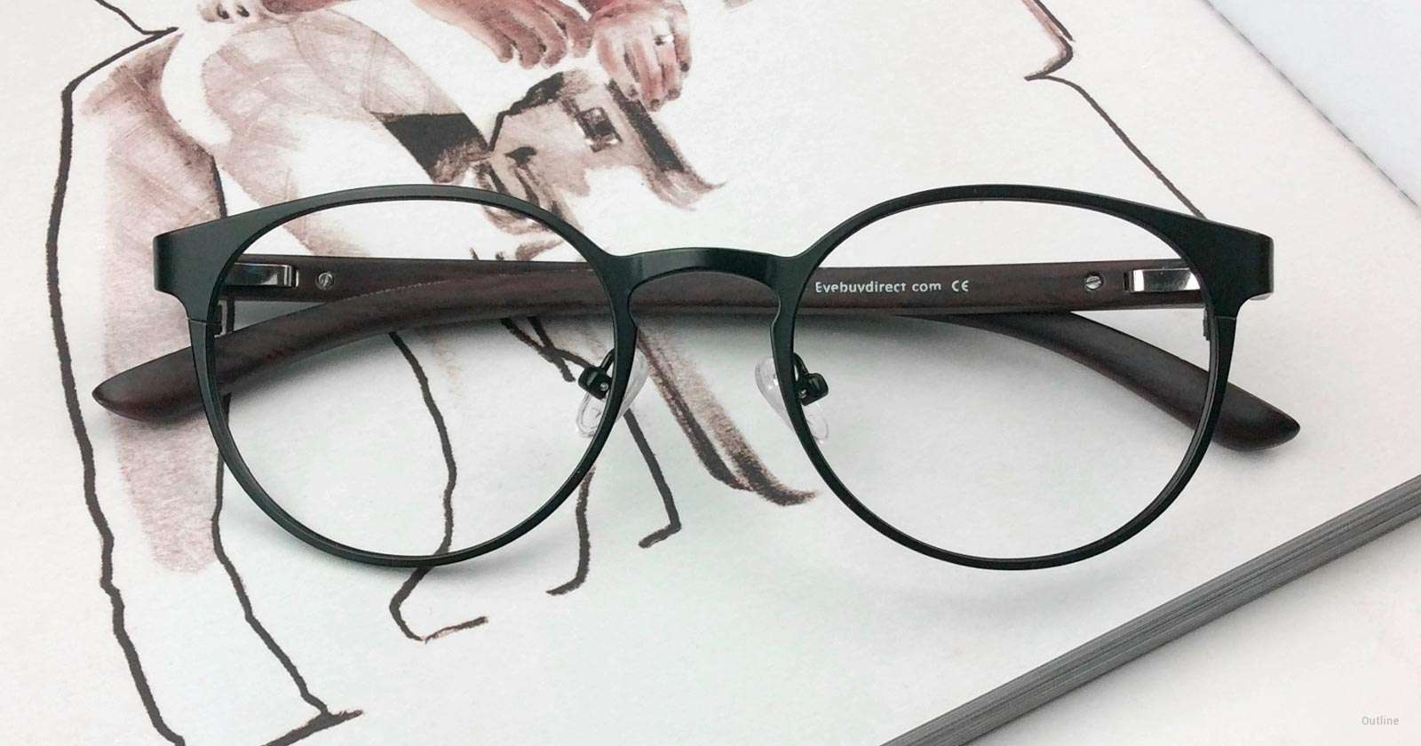 Why Black Rim Glasses are the Classiest | Blog | EyeBuyDirect