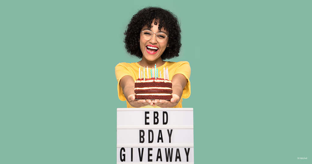 Join EBD's 12th B-day Giveaway!