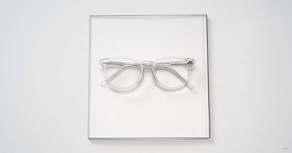 Clear Cat Eye Glasses: The Cat's Out of the Bag