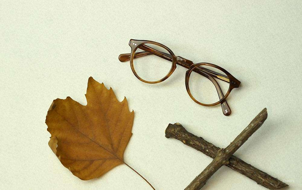 history of eyeglasses - leaf - glasses