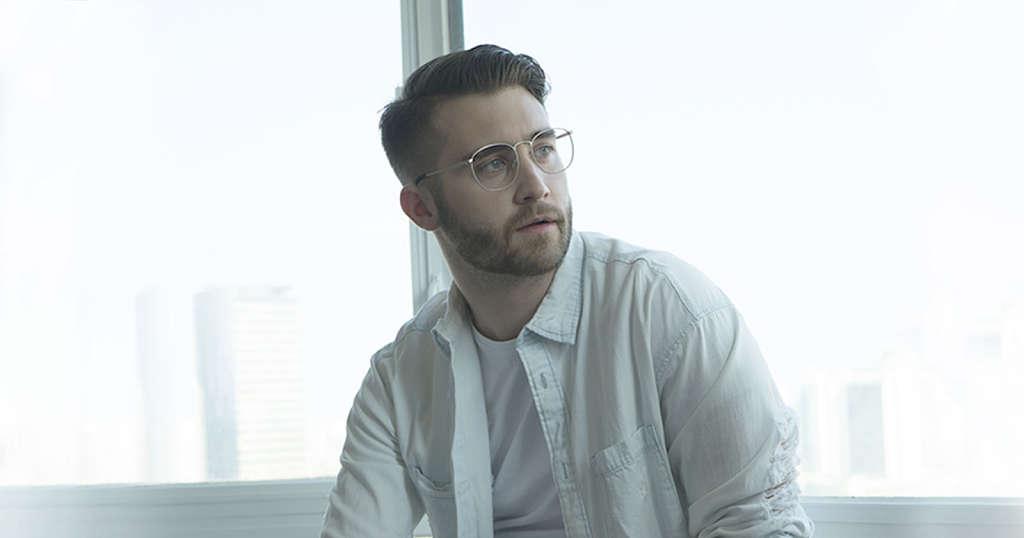 Men's Gold Frame Sunglasses and Eyeglasses