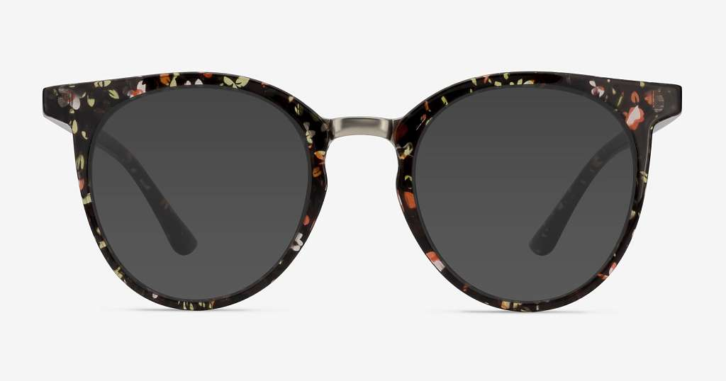 Floral Sunglasses: Summertime Flower Power
