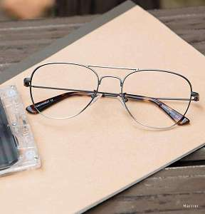 old fashioned eyeglasses - aviator