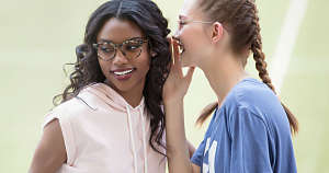 active eyewear- two girls