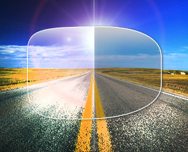 An image showing how polarized lenses work